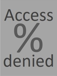 Letters: Access denied and % sign