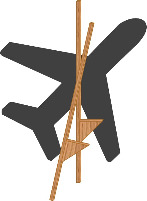 Lateral Thinking Plane and stilts